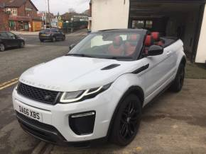 Land Rover Range Rover Evoque 2.0 TD4 HSE Dynamic 2dr Auto Convertible Diesel White at Motorhouse Cheshire Stockport