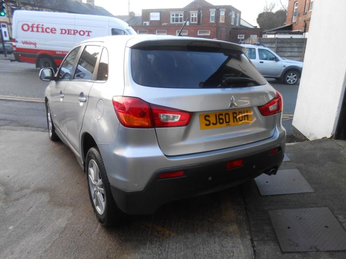 Mitsubishi ASX 1.8 3 ClearTec 5dr Hatchback Diesel Silver