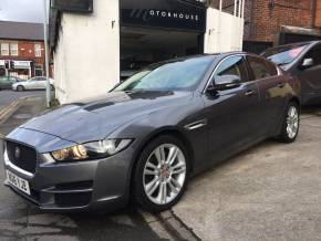 Jaguar XE 2.0d [180] Prestige 4dr Auto Saloon Diesel Grey at Motorhouse Cheshire Stockport