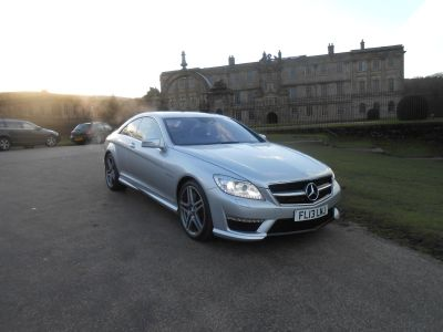 Mercedes-Benz CL 5.5 CL 63 AMG Bi-Turbo 2dr Auto Coupe Petrol SilverMercedes-Benz CL 5.5 CL 63 AMG Bi-Turbo 2dr Auto Coupe Petrol Silver at Motorhouse Cheshire Stockport