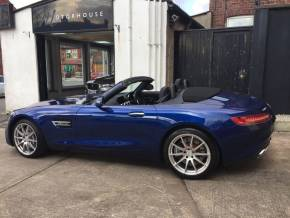 Mercedes-Benz AMG GT 4.0 GT Premium 2dr Auto Convertible Petrol Blue at Motorhouse Cheshire Stockport