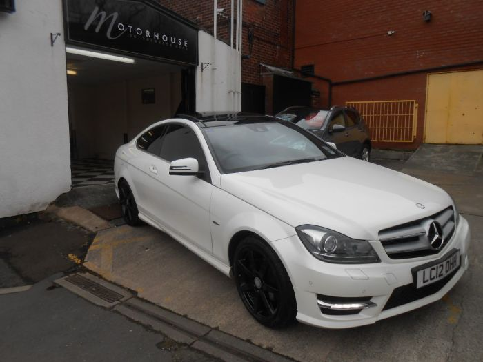 second hand mercedes benz c class c220 cdi blueefficiency amg sport 2dr auto for sale in. Black Bedroom Furniture Sets. Home Design Ideas
