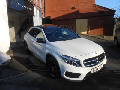 Mercedes-Benz Gla Class 2.1 GLA 200 CDI AMG Line 5dr Auto Hatchback Diesel WhiteMercedes-Benz Gla Class 2.1 GLA 200 CDI AMG Line 5dr Auto Hatchback Diesel White at Motorhouse Cheshire Stockport