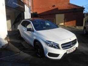 Mercedes-Benz GLA Class 2.1 GLA 200 CDI AMG Line 5dr Auto Hatchback Diesel White at Motorhouse Cheshire Stockport