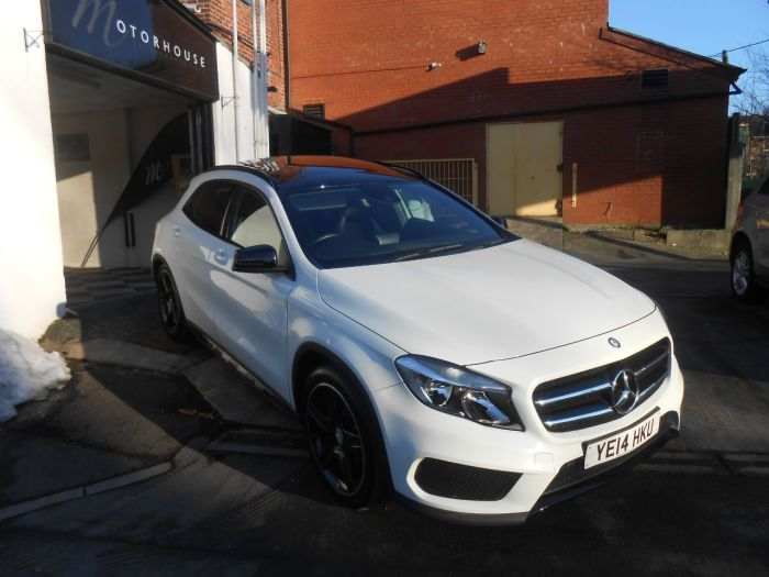 Used mercedes benz gla class gla 200 cdi amg line 5dr auto for Mercedes benz top of the line
