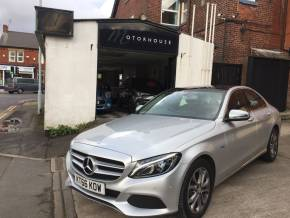 Mercedes-Benz C Class 2.0 C350e Sport 4dr Auto Saloon Petrol / Electric Hybrid Silver at Motorhouse Cheshire Stockport