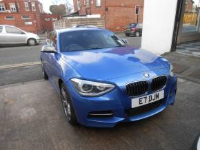 BMW 1 Series 3.0 M135i M Performance 5dr Step Auto Hatchback Petrol Estrol Blue at Motorhouse Cheshire Stockport