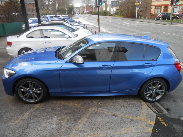 BMW 1 Series 3.0 M135i M Performance 5dr Step Auto Hatchback Petrol Estrol Blue