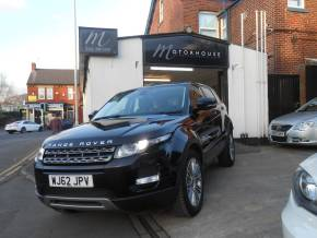 Land Rover Range Rover Evoque 2.2 SD4 Pure 5dr [Tech Pack] Estate Diesel Black at Motorhouse Cheshire Stockport