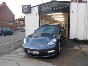 Porsche Panamera 3.0 V6 Diesel 4dr Tiptronic S Hatchback Diesel Blue at Motorhouse Cheshire Stockport