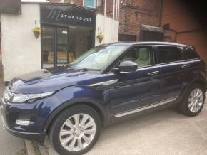 Land Rover Range Rover Evoque 2.2 SD4 Prestige 5dr Auto [9] [Lux Pack] Estate Diesel Blue at Motorhouse Cheshire Stockport