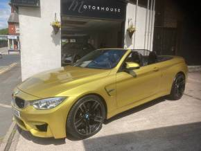 BMW M4 3.0 DCT S/S Convertible Petrol Austin Yellow at Motorhouse Cheshire Stockport