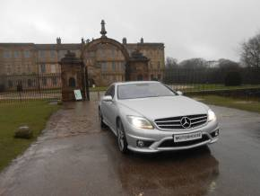 Mercedes-Benz CL 6.2 CL 63 2dr Auto Coupe Petrol Silver at Motorhouse Cheshire Stockport