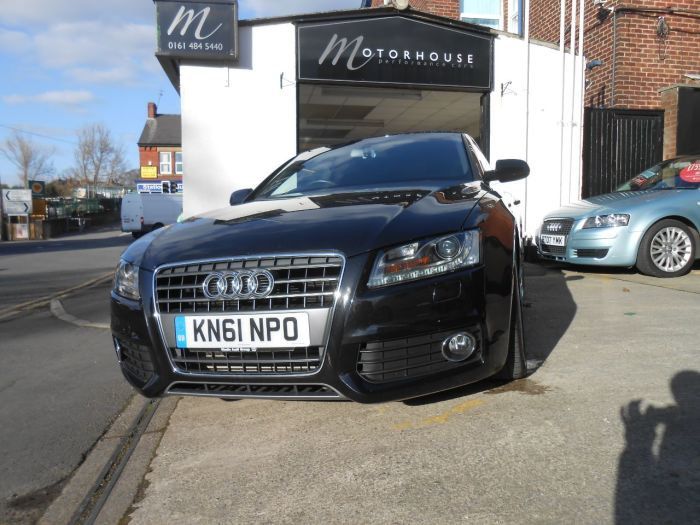 Audi A5 2.0 TDI S Line 2dr [Start Stop] Coupe Diesel Black