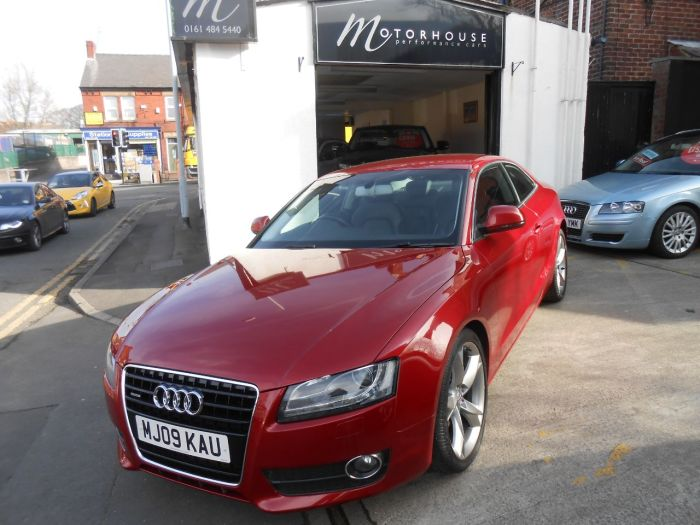Audi A5 3.0 TDI Quattro Sport 2dr Coupe Diesel Red