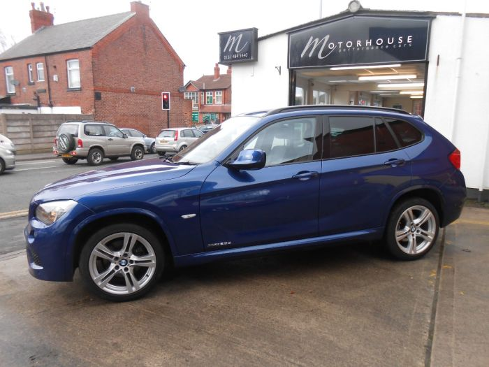 BMW X1 2.0 xDrive 20d M Sport 5dr Step Auto Estate Diesel Blue