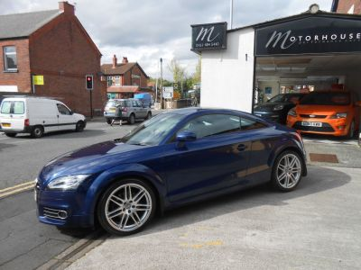 Audi TT 2.0 SOLD Coupe Diesel BlueAudi TT 2.0 SOLD Coupe Diesel Blue at Motorhouse Cheshire Stockport