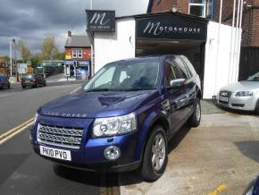 Land Rover Freelander 2.2 Td4 e GS 5dr Estate Diesel Blue at Motorhouse Cheshire Stockport