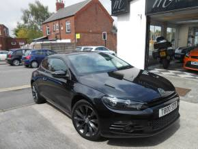 Volkswagen Scirocco 2.0 TDI GT 3dr Coupe Diesel Black at Motorhouse Cheshire Stockport