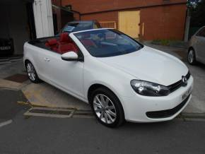 Volkswagen Golf 1.4 TSI S 2dr Convertible Petrol White at Motorhouse Cheshire Stockport