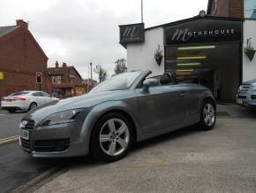 Audi TT 2.0T FSI 2dr Convertible Petrol Grey / Black at Motorhouse Cheshire Stockport