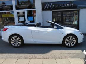 Vauxhall Cascada 1.4T Elite 2dr Convertible Petrol White at Motorhouse Cheshire Stockport