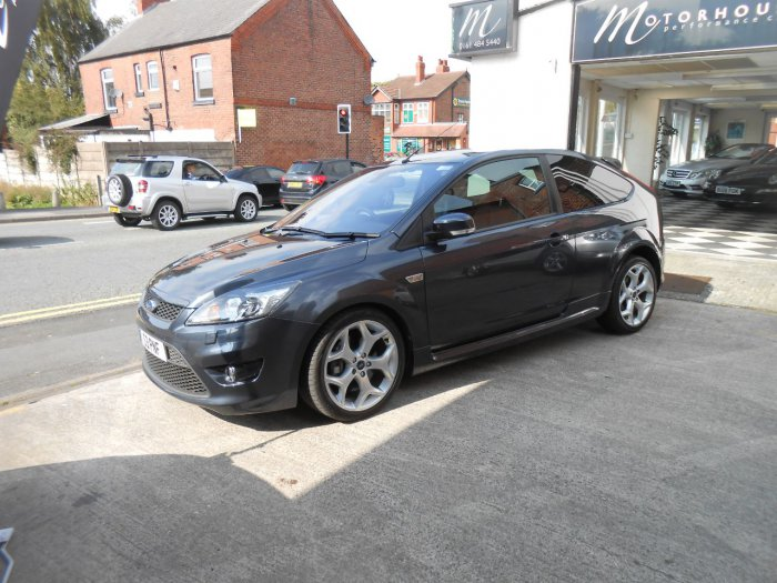 Ford Focus 2.5 ST-3 3dr Hatchback Petrol Anthracite Grey