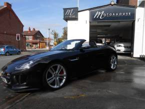 Jaguar F-type 5.0 Supercharged V8 S 2dr Auto Convertible Petrol Black at Motorhouse Cheshire Stockport
