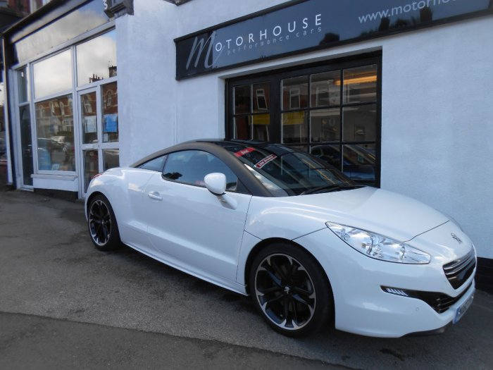 Peugeot RCZ 2.0 HDi GT 2dr Coupe Diesel White