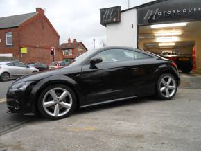 Audi TT 2.0 TDI Quattro S Line 2dr [2011] Coupe Diesel Black at Motorhouse Cheshire Stockport