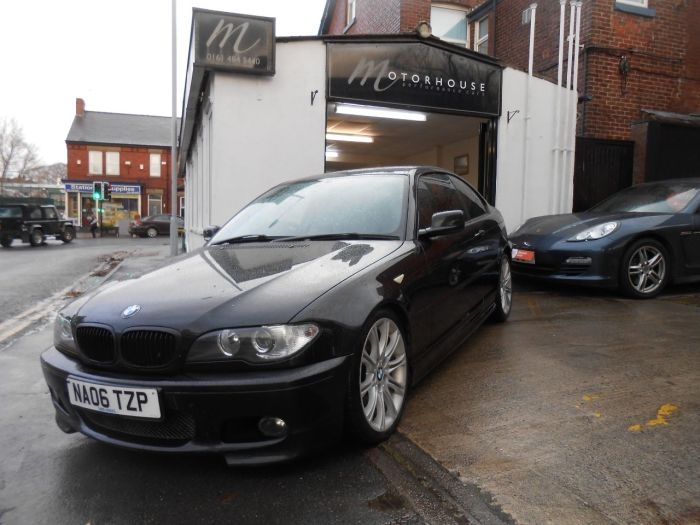 BMW 3 Series 2.0 320 Cd M Sport 2dr Coupe Diesel Black