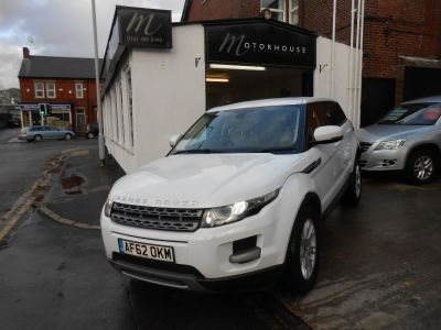 Land Rover Range Rover Evoque 2.2 SD4 Pure 5dr Estate Diesel WhiteLand Rover Range Rover Evoque 2.2 SD4 Pure 5dr Estate Diesel White at Motorhouse Cheshire Stockport
