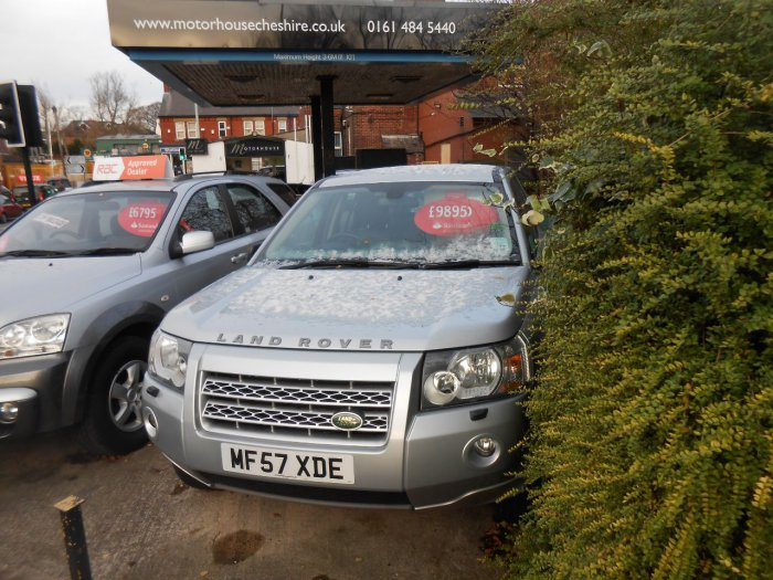 Land Rover Freelander 2.2 Td4 GS 5dr Auto Estate Diesel Silver