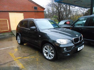 BMW X5 3.0 xDrive30d M Sport 5dr Auto Estate Diesel BlackBMW X5 3.0 xDrive30d M Sport 5dr Auto Estate Diesel Black at Motorhouse Cheshire Stockport