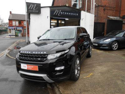 Land Rover Range Rover Evoque 2.0 Si4 Dynamic 5dr Auto Estate Petrol BlackLand Rover Range Rover Evoque 2.0 Si4 Dynamic 5dr Auto Estate Petrol Black at Motorhouse Cheshire Stockport