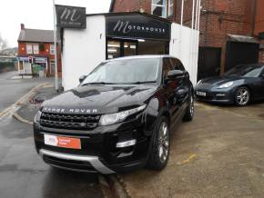 Land Rover Range Rover Evoque 2.0 Si4 Dynamic 5dr Auto Estate Petrol Black at Motorhouse Cheshire Stockport
