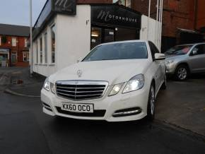 Mercedes-Benz E Class 2.1 E250 CDI BlueEFFICIENCY Avantgarde 4dr Saloon Diesel White at Motorhouse Cheshire Stockport