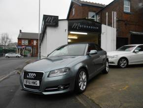 Audi A3 1.6 TDI Sport 2dr Convertible Diesel Grey at Motorhouse Cheshire Stockport