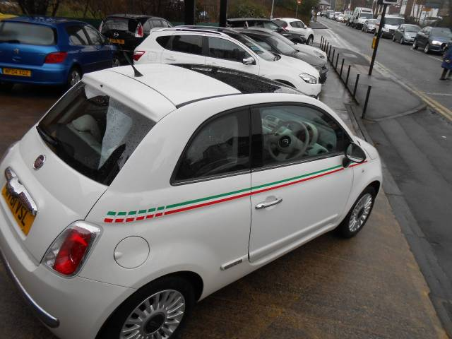 2011 Fiat 500 1.2 Lounge 3dr [Start Stop]