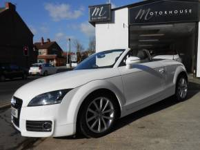 Audi TT 2.0 TDI Quattro Sport 2dr [2011] Convertible Diesel White at Motorhouse Cheshire Stockport