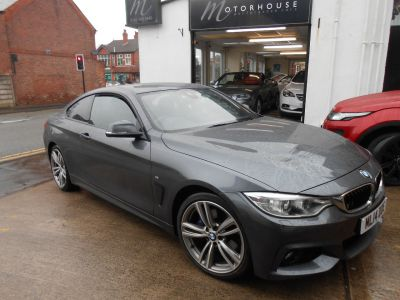 BMW 4 Series 0.0 420 msport Coupe Diesel WhiteBMW 4 Series 0.0 420 msport Coupe Diesel White at Motorhouse Cheshire Stockport