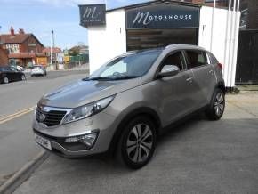 Kia Sportage 1.7 CRDi ISG 3 5dr Estate Diesel Silver at Motorhouse Cheshire Stockport