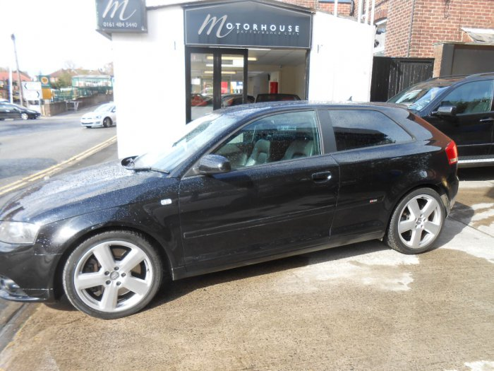 used audi a3 3 2 v6 quattro sport 3dr dsg for sale in. Black Bedroom Furniture Sets. Home Design Ideas