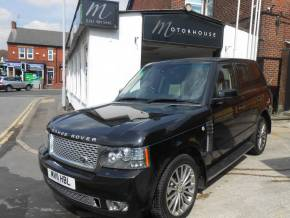 Land Rover Range Rover 4.4 TDV8 Autobiography 4dr Auto Estate Diesel Black at Motorhouse Cheshire Stockport