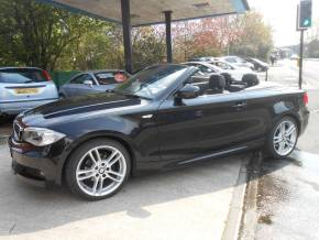 BMW 1 Series 2.0 118i M Sport 2dr Convertible Petrol Black at Motorhouse Cheshire Stockport