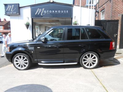 Land Rover Range Rover Sport 2.7 TDV6 HSE 5dr Auto Estate Diesel BlackLand Rover Range Rover Sport 2.7 TDV6 HSE 5dr Auto Estate Diesel Black at Motorhouse Cheshire Stockport