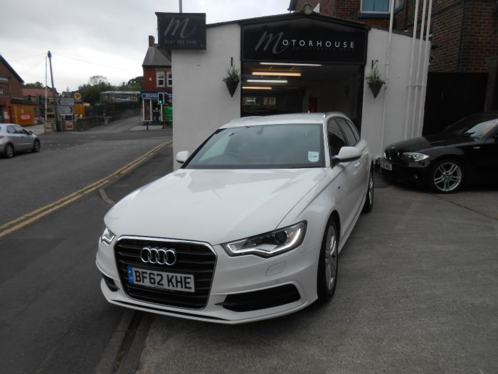 Audi A6 2.0 TDI S Line 5dr Multitronic Estate Diesel White