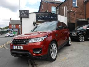 Land Rover Range Rover Sport 3.0 SDV6 HSE Dynamic 5dr Auto Estate Diesel Red at Motorhouse Cheshire Stockport