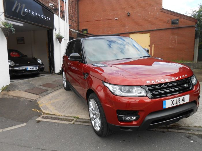 Land Rover Range Rover Sport 3.0 SDV6 HSE Dynamic 5dr Auto Estate Diesel Red