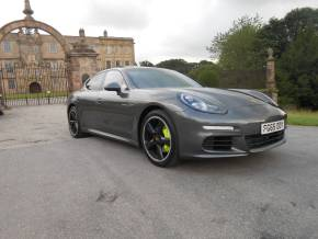 Porsche Panamera 3.0 V6 S E-Hybrid 4dr Tiptronic S Hatchback Hybrid Grey at Motorhouse Cheshire Stockport